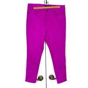 Lauren by Ralph Lauren stretch slim purple